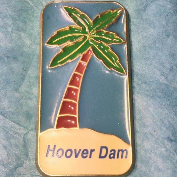 Hoover dam vintage magnet